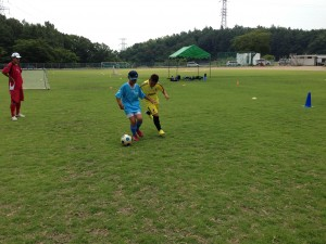 H25箕面校夏休みサッカー教室1期 028