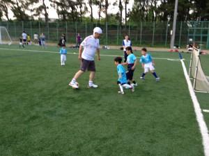 親子サッカー IN 緑地 022