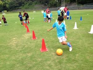 H25箕面校夏休みサッカー教室1期 014