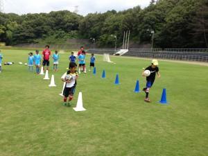 H25箕面校夏休みサッカー教室1期 003