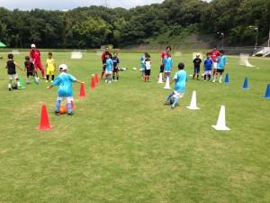H25箕面校夏休みサッカー教室1期 006