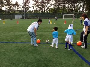 親子サッカー IN 緑地 001