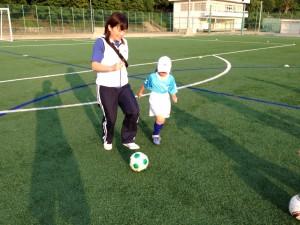 親子サッカー IN 緑地 013
