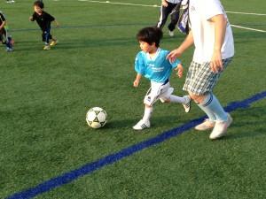 親子サッカー IN 緑地 016