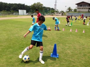 H25箕面校夏休みサッカー教室1期 023