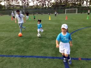 親子サッカー IN 緑地 002