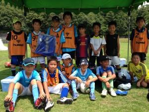 H25箕面校夏休みサッカー教室1期 042