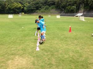 H25箕面校夏休みサッカー教室1期 015