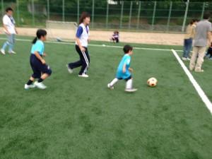 親子サッカー IN 緑地 024
