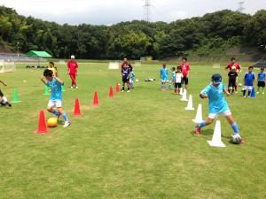H25箕面校夏休みサッカー教室1期 008