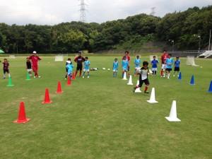 H25箕面校夏休みサッカー教室1期 002