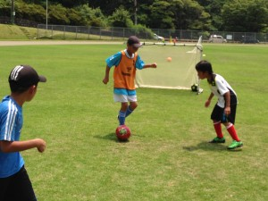 H25箕面校夏休みサッカー教室1期 033