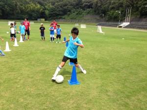 H25箕面校夏休みサッカー教室1期 013