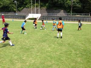 H25箕面校夏休みサッカー教室1期 036